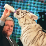 Gingrich goes for the throat, gets clawed